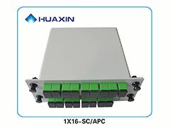 PLC型插片式光分路器